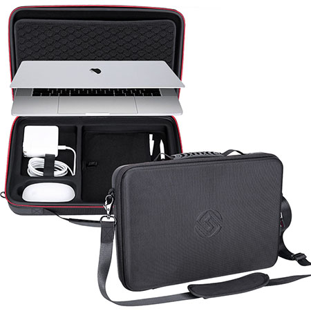 purchase cheap d90b5 54793 Smatree Carry Case for 15 inch Macbook Pro Laptop Case, Protective ...